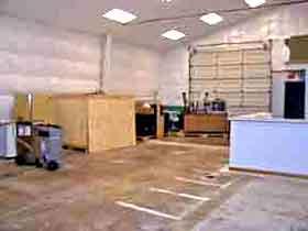 storage and restoration warehouse