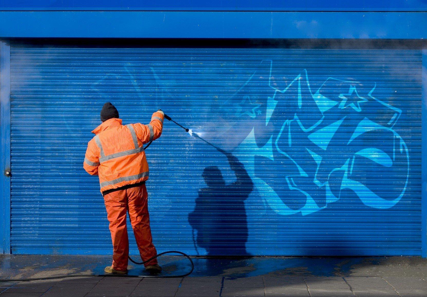 Graffiti Removal Process